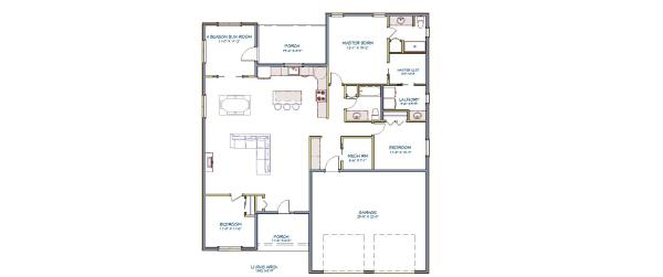 Frisco Floor Plan