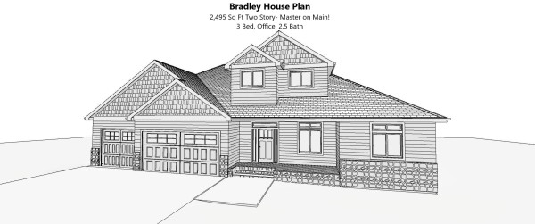 Bradley House Plan
