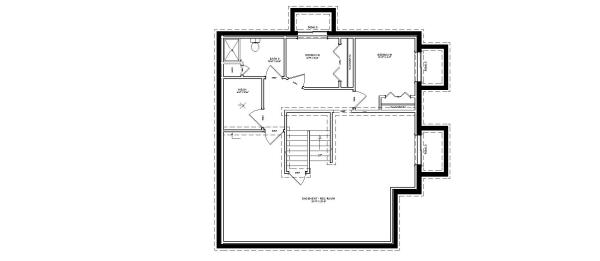 Custom Home Floor Plans With Basement: Two Story
